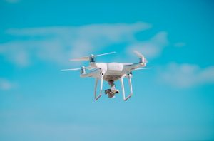 so you want to get a drone a Phantom 4 pro drone hovering