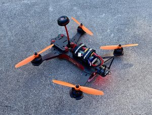 small race drone