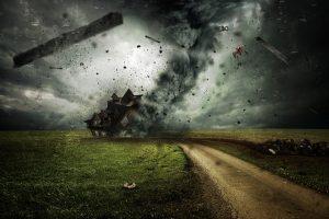 drones in storms