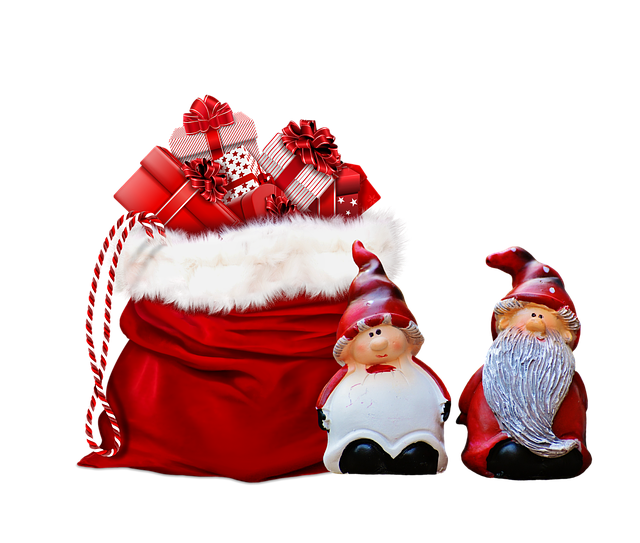 best drones for christmas Christmas presents in a sack