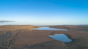 Drone pic of mourne lough in donegal