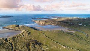 Aerial photography Gortnatraw beach