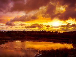 Sunset in Glenahilt Burtonport