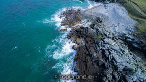 Rugged coastline at Fanad