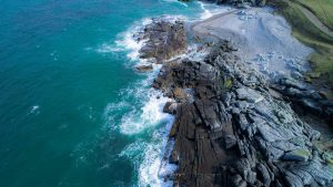 Fanad coast line in Donegal