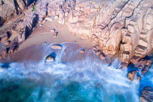 Cruit Island drone coastal photograph