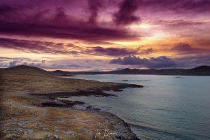Sun Set over Mulroy Bay