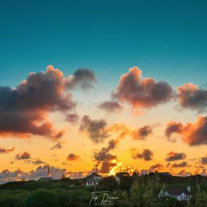 Glenahilt Sunset in Burtonport