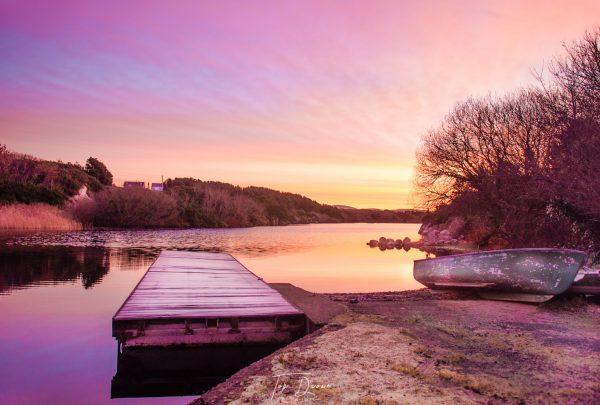 Waskel Lough sunrise