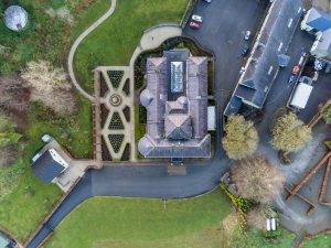 rockhill house top view