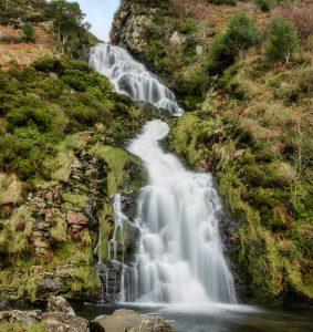 Assaranca Waterfall in Ardara