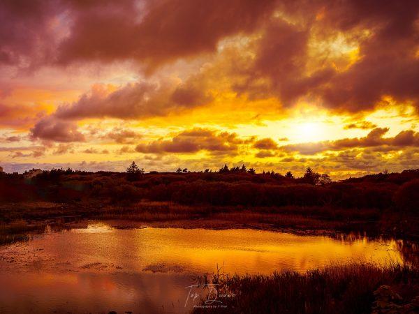 Lough Waskel sunrise