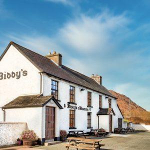 sunny day Biddy Obarnes pub