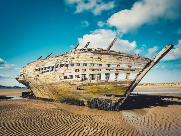 Bad Eddies boat wreck