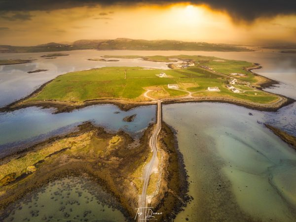 Aerial view Isle of Roy