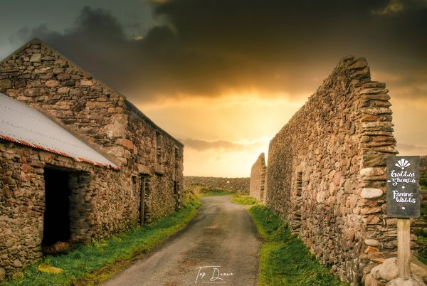 The Famine Walls in Maghery