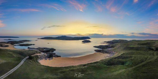 Cruit Island sunset
