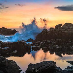 big wave on Cruit Island