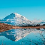 Errigal reflection in lough